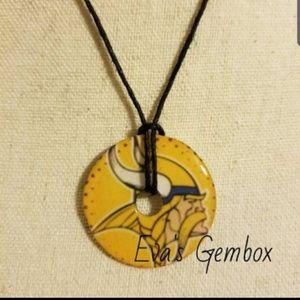 Vikings Washer Necklace